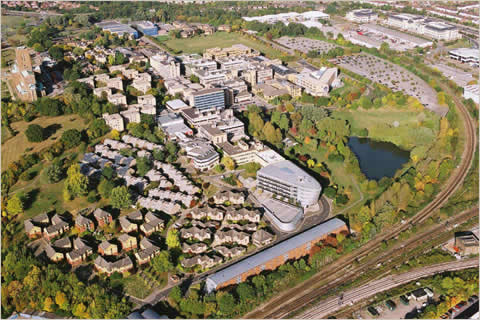 Surrey University - Aerial Image